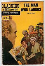 CLASSICS ILLUSTRATED #71 THE MAN WHO LAUGHS - Vintage Comic