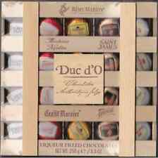 Duc d'O - Liqueur Liquor Filled Belgian Chocolate in a wooden box 250 gr - 20pc.