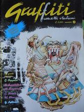 Graffiti Fumetti Italiani n°2 1993 ed. La Goccia   [G282] con cartoline