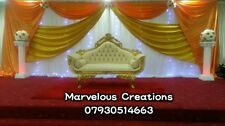 Cream and Gold Wedding sofa  for Hire