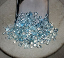 Aquamarine gem mix loose parcel over 20 carats