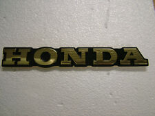 HONDA CB750 FO, -F1 SUPERSPORT '76, '77 TANK BADGES. NEW REPRODUCTION.