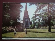 POSTCARD NOTTINGHAMSHIRE CLUMBER CHURCH