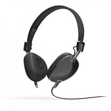 Skullcandy Navigator On-Ear Headphones Headset w/Mic + Remote (Black) S5AVDM-161