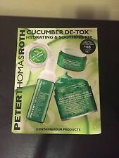 Peter Thomas Roth 4 Piece Cucumber De-Tox HYDRATING & SOOTHING KIT