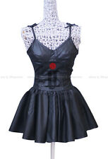 Future Diary Mirai Nikki Gasai Yuno Black Daily Dress Cosplay Costume,Any Size