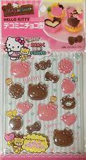 Hello Kitty Chocolate mini Decoration Mold 16Type Handmade kit kitchen Sanrio