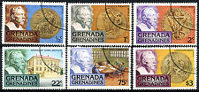 Grenada Grenadines 1978 SG#258-263 Nobel Prize Winners Cto Used Set #A84861
