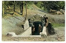 Ellenville NY - TUNNEL ENTRANCE TO SUN RAY SPRING - Postcard