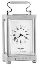 CARRIAGE CLOCK STERLING SILVER 925 HALLMARKED NEW FROM ARI D NORMAN