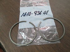 NOS Vintage Husqvarna Husky Motorcycle MX Piston Ring Set Pair 16 10 936 01 QTY2