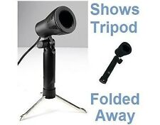 PORTABLE MINI PHOTO STUDIO LIGHT WITH FOLDING TRIPOD, ACCEPTS GU10 LAMPS/BULBS