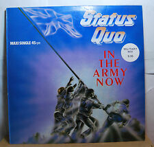 STATUS QUO in the army now ( 12'' maxi spain 1976 )ex+