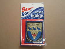 Bognor Regis (Blue Border) Sampson Souvenirs Woven Cloth Patch Badge