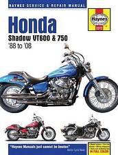 HONDA Shadow vt600 & 750 MOTO RIPARAZIONE MANUALE, Anon