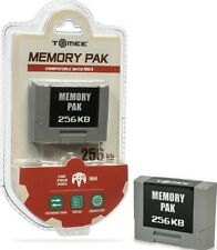 NEW 256k MEMORY CARD FOR NINTENDO 64 - N64 CONTROLLER PACK PAK (IN BOX) SEALED