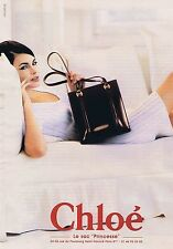 Publicité Advertising 016 1996 Chloé le sac 'Princesse'