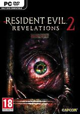 Computer PC game Resident Evil Revelations 2 II DVD shipping new