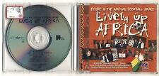 Cd Frisbie & The African Football Stars LIVELY UP AFRICA - ottimo 1998 Weah Ba