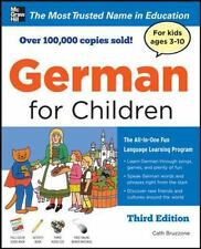 German for Children with Two Audio CDs, Third Edition, Bruzzone, Catherine, Acce