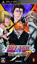 Used PSP Bleach: Heat the Soul 7 Japan Import ((Free shipping))、