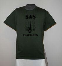 NEW SAS BLACK OPS T-SHIRT LG  *L@@K*    SAS BLACK OPS   NWOT