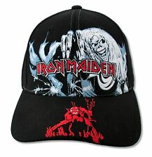 Iron Maiden Number of the Beast Black Baseball Hat New Official Heavy Metal