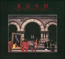 RUSH Moving Pictures - Deluxe Edition [CD + Blu-ray], Rush, Good