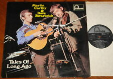 MARTIN CARTHY & DAVE SWARBRICK ~ TALES LONG AGO ~HAND SIGNED UK FONATAN LP ~ 1/1