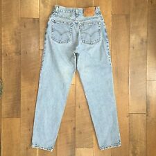 LEVIS Vintage 90s Womens High Waist Jeans 550 Relaxed Fit Tapered Leg 8 MIS M