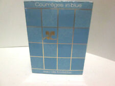 COURREGES IN BLUE 100ml EDT, SPLASH VERY RARE VINTAGE. NEW ORIGINAL