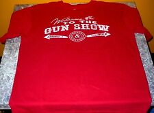 DISTRESSED STYLE BASS PRO SHOPS WELCOME TO THE GUN SHOW M T-SHIRT