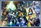 GRIMM FAIRY TALES OZ #1 SIGNATURE EDITION ART PRINT - SIGNED By EBAS
