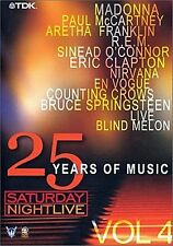 Saturday Night Live - 25 Years of Music Vol. 4 u.a Madonna, Nirvana, Paul McCart