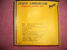 ZENITH Carburetor gasket set,, BENDIX AVIATION CORP,MECHANOVAC GOV. SPEED UNIT.