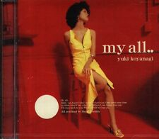 YUKI KOYANAGI - my all .. - Japan CD - NEW J-POP