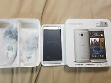 HTC One One M7 - 32GB - Silver (Unlocked) Smartphone