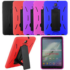 2in1 Heavy Duty Armor Hybrid Cover Case for Samsung Galaxy Tablet A E 2 3 4 S S2