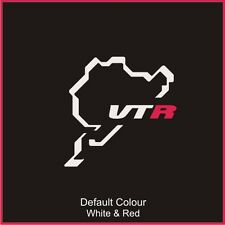 Citroen Saxo VTR Nurburgring Circuit Decal, Track, Vinyl, Sticker, N2028