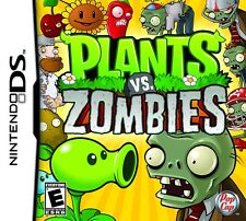NINTENDO DS PIANTE VS ZOMBIE GAME CARD Working with DS, DS Lite, DSi, 3DS