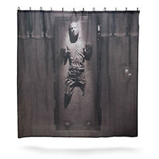 NEW! Star Wars HAN SOLO in CARBONITE Shower Curtain w/ Hooks Bathroom Décor