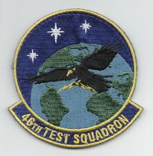 """USAF Patch 46th TEST SQUADRON, current design, 3.5"""" Size"""