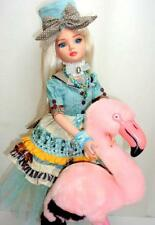 "Ellowyne Wilde Alice in Wonderland FLAMINGO Tonner 16"" Doll Dollheart Outfit Box"