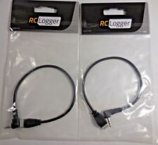 RC Logger 30025RC (2.5 mm Mono to 12C) A/V Cable [Set of 2]