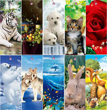 Nice! 10pcs 3D Bookmarks for children's gift with red string beautiful image B03