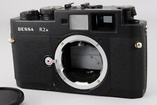【AB Exc+】 Voigtlander Bessa R2A Black 35mm Rangefinder Film Camera JAPAN #2009
