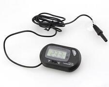 Digital Aquarium Indoor Outdoor Thermometer Temperature Hygrometer Meter WB
