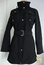 Michael Kors trench manteau veste parka femmes avec capuche taille M neuf avec étiquette