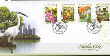 Singapore 2003 Birds/Butterflies/Flowers 4v FDC s5901