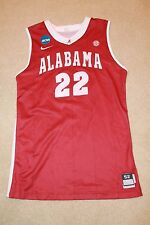 Ronald STEELE 2006 ALABAMA Crimson Tide Game Used Basketball Jersey NCAA Patch